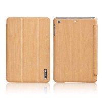 Чехол Remax для iPad Mini/Mini2/Mini3 Wood Yellow