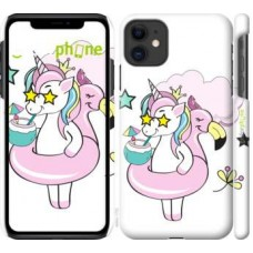 Чехол для iPhone 11 Crown Unicorn 4660m-1722