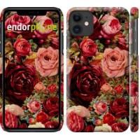 Чехол для iPhone 11 Цветущие розы 2701m-1722