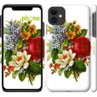 Чехол для iPhone 11 Цветы 2 4760m-1722