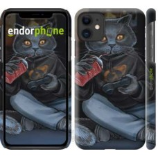 Чехол для iPhone 11 gamer cat 4140m-1722