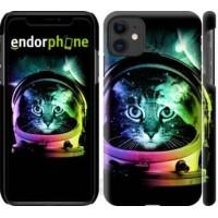 Чехол для iPhone 11 Кот-астронавт 4154m-1722