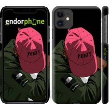 Чехол для iPhone 11 logo de yeezy 3995m-1722