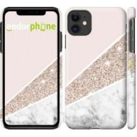 Чехол для iPhone 11 Пастельный мрамор 4342m-1722