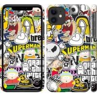 Чехол для iPhone 11 Popular logos 4023m-1722