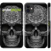 Чехол для iPhone 11 skull-ornament 4101m-1722