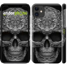 Чехол для iPhone 11 skull-ornament 4101m-1722