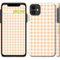 Чехол для iPhone 11 Узор в клетку 4783m-1722