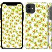 Чехол для iPhone 11 Весёлые авокадо 4799m-1722
