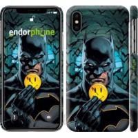Чехол для iPhone X Бэтмен 2 4679m-1050