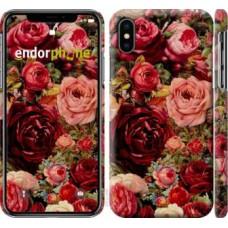 Чехол для iPhone X Цветущие розы 2701m-1050