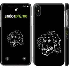 Чехол для iPhone X Эйнштейн 4759m-1050