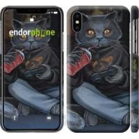 Чехол для iPhone X gamer cat 4140m-1050