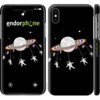 Чехол для iPhone X Лунная карусель 4136m-1050