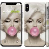 Чехол для iPhone X Мэрлин Монро 1833m-1050