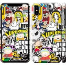 Чехол для iPhone X Popular logos 4023m-1050