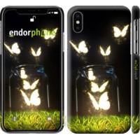 Чехол для iPhone X Бабочки 2983m-1050