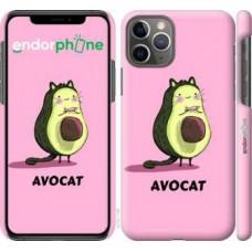 Чехол для iPhone 11 Pro Avocat 4270c-1788