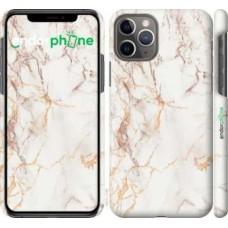 Чехол для iPhone 11 Pro Белый мрамор 3847c-1788