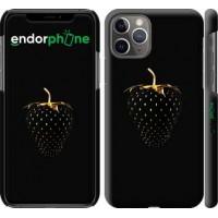 Чехол для iPhone 11 Pro Черная клубника 3585c-1788