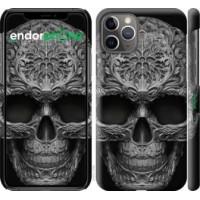 Чехол для iPhone 11 Pro skull-ornament 4101c-1788