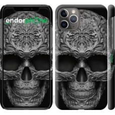 Чехол для iPhone 11 Pro skull-ornament 4101c-1788