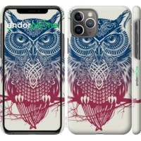 Чехол для iPhone 11 Pro Сова 2 2726c-1788