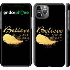 Чехол для iPhone 11 Pro Верь в свою мечту 3748c-1788