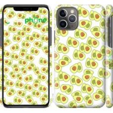 Чехол для iPhone 11 Pro Весёлые авокадо 4799c-1788