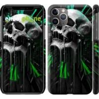 Чехол для iPhone 11 Pro Max Череп-часы 4100m-1723