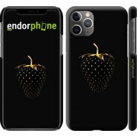 Чехол для iPhone 11 Pro Max Черная клубника 3585m-1723