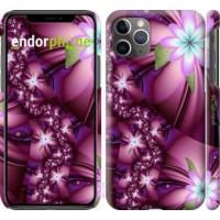 Чехол для iPhone 11 Pro Max Цветочная мозаика 1961m-1723