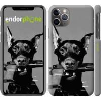 Чехол для iPhone 11 Pro Max Доберман 2745m-1723