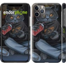 Чехол для iPhone 11 Pro Max gamer cat 4140m-1723