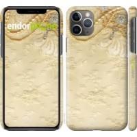 Чехол для iPhone 11 Pro Max Кружевной орнамент 2160m-1723
