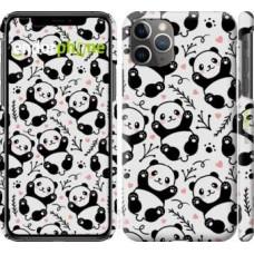 Чехол для iPhone 11 Pro Max Панды 4318m-1723