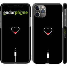 Чехол для iPhone 11 Pro Max Подзарядка сердца 4274m-1723