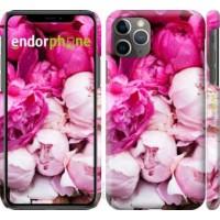 Чехол для iPhone 11 Pro Max Розовые пионы 2747m-1723