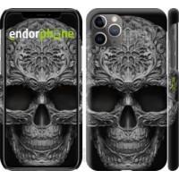 Чехол для iPhone 11 Pro Max skull-ornament 4101m-1723