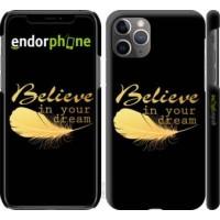 Чехол для iPhone 11 Pro Max Верь в свою мечту 3748m-1723