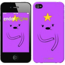 Чехол для iPhone 4 Adventure Time. Lumpy Space Princess 1122c-15