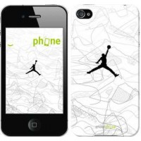 Чехол для iPhone 4s Air Jordan 3688c-12