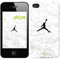 Чехол для iPhone 4 Air Jordan 3688c-15