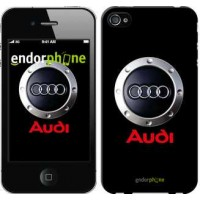 Чехол для iPhone 4s Audi. Logo v2 3105c-12