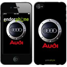 Чехол для iPhone 4 Audi. Logo v2 3105c-15