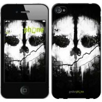 Чехол для iPhone 4s Call of Duty череп 150c-12
