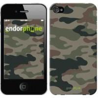 Чехол для iPhone 4s Камуфляж v3 1097c-12