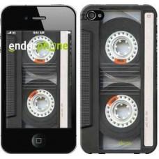 Чехол для iPhone 4s Кассета 876c-12