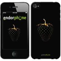 Чехол для iPhone 4s Черная клубника 3585c-12
