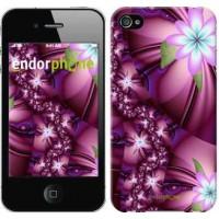 Чехол для iPhone 4 Цветочная мозаика 1961c-15